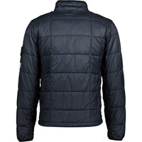 Stone Island Garment Dyed Quilted Jacket Navy - chancefashionco