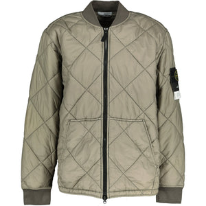 You added <b><u>Stone Island Garment Dyed Quilted Micro Yarn Jacket Khaki</u></b> to your cart.