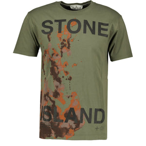 Stone Island 'Graphic Eight' T-Shirt Dark Green - chancefashionco