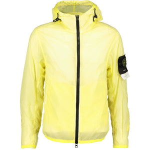 Stone Island Lamy Velour Jacket Yellow - chancefashionco