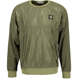 Stone Island Nylon Metal Jumper Khaki - chancefashionco
