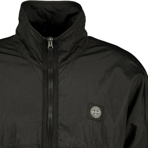 Stone Island Nylon Metal Zip Jacket Black - chancefashionco