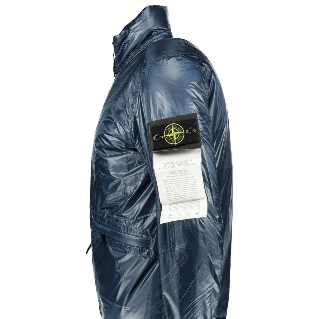 Stone Island Pertex Quantum Jacket Blue - chancefashionco