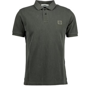 Stone Island Polo Grey - chancefashionco
