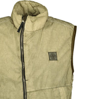 Stone Island Resin Poplin TC Gilet - chancefashionco