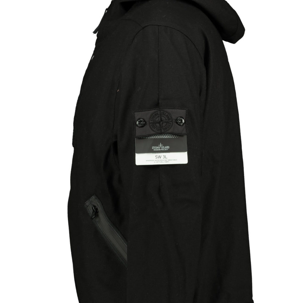 Stone Island Shadow Project Jacket Black - chancefashionco