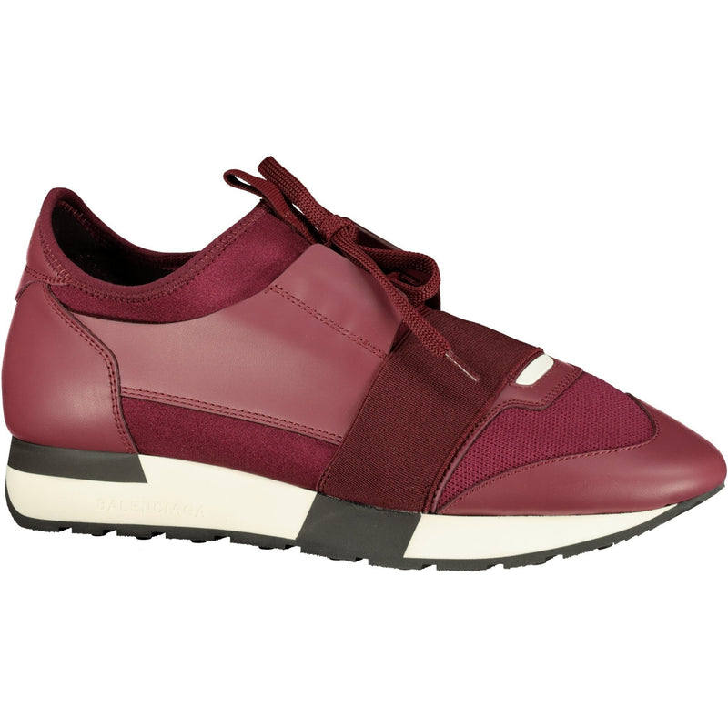 Women's Balenciaga Race Runners Wine - chancefashionco