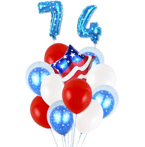 4th of July Party Decoration Balloon Independence Day Balloon Set Party Decoration Patriotic Decorations,4th of July Decor, Fourth of July Decor, Independence Day Decorations, USA Party Balloons