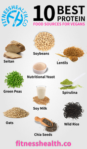 10 Best Protein Food Sources For Vegans