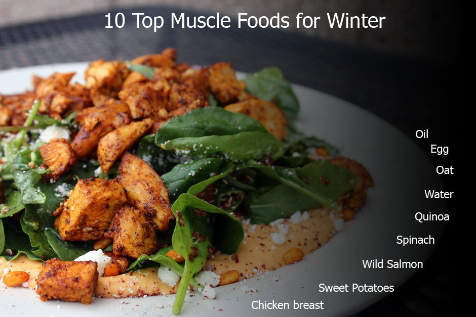 10 Top Muscle Foods for Winter