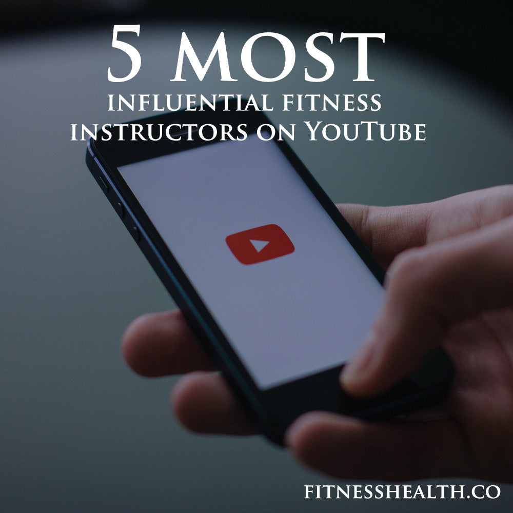 5 most influential fitness instructors on YouTube