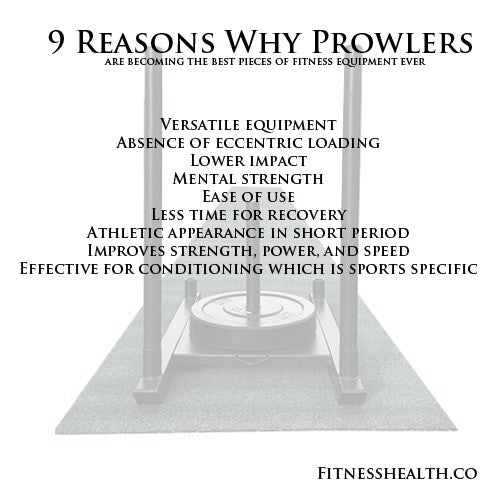 9 Reasons Why Prowlers are becoming the best pieces of fitness equipment ever