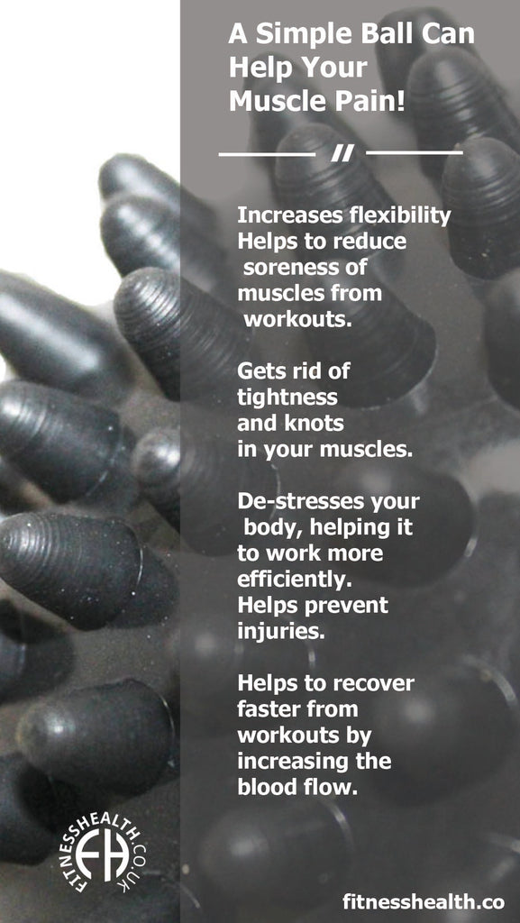 A Simple Massage Ball Can Help Your Muscle Pain!