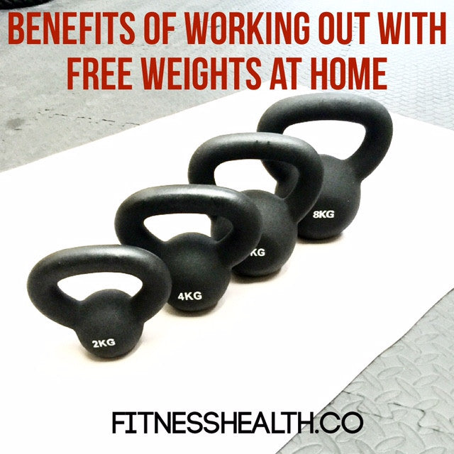 Benefits of Working Out With Free Weights at Home