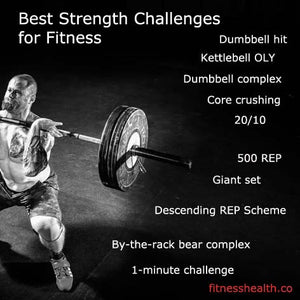 Best Strength Challenges for Fitness