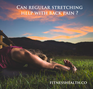 Can regular stretching help with back pain ?