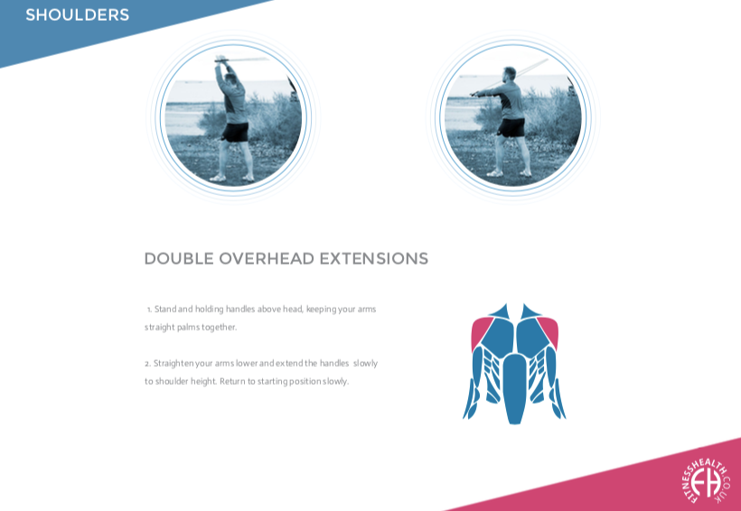 DOUBLE OVERHEAD EXTENSIONS
