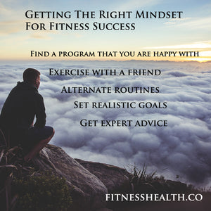 Getting The Right Mindset For Fitness Success
