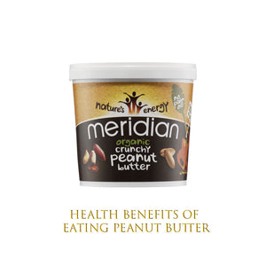 Health Benefits of eating peanut butter