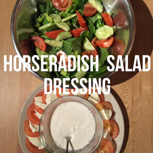 Low Fat Yoghurt and Horseradish Salad Dressing Recipe