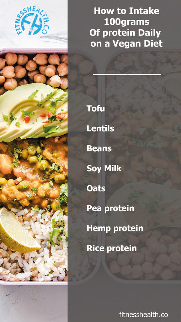 How to Intake 100grams Of Protein Daily on a Vegan Diet