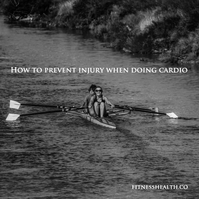 How to prevent injury when doing cardio