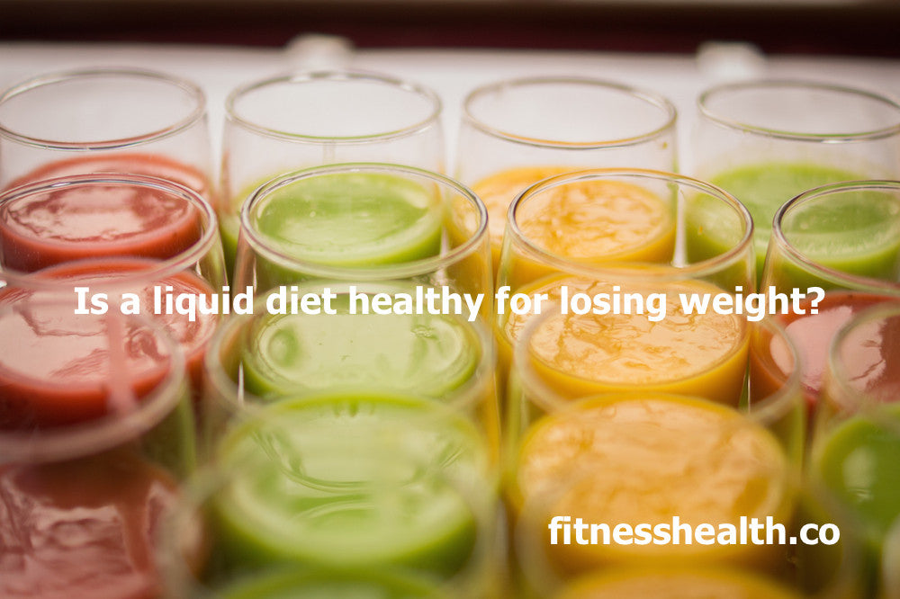 Is a liquid diet healthy for losing weight?