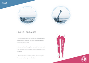 LAYING LEG RAISES