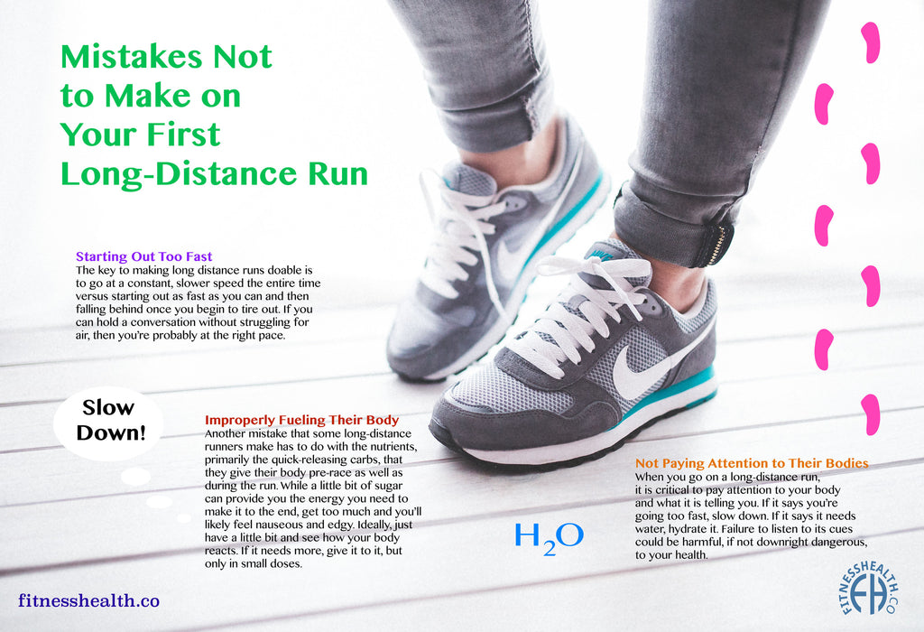 Mistakes Not to Make on Your First Long-Distance Run