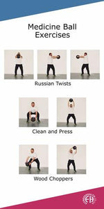 3 Total Body Medicine Ball with Handles Exercises