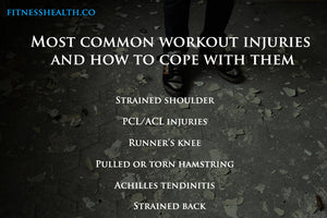 Most common workout injuries and how to cope with them