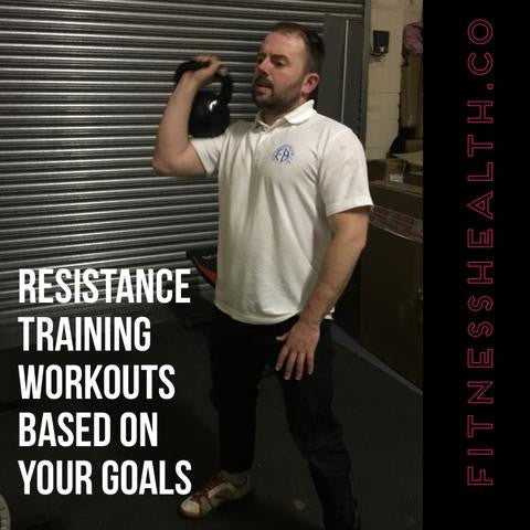 Resistance Training Workouts Based On Your Goals