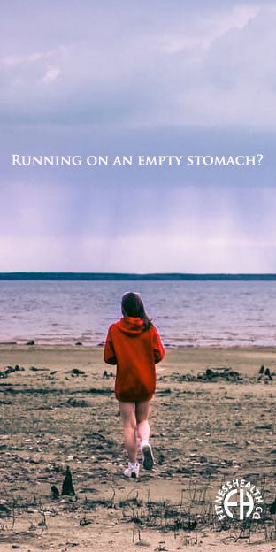 Running on an empty stomach?