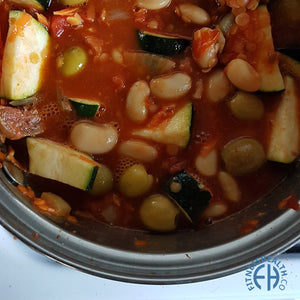 Spanish Vegan Butter Bean Casserole