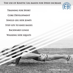 The use of Kinetic Leg bands for Speed increase