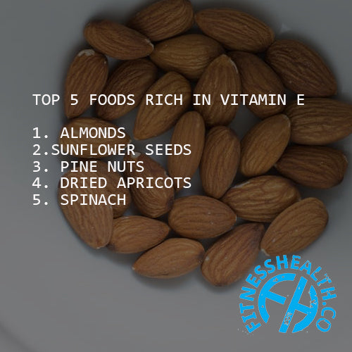 Vitamin E Rich Foods and Health Information