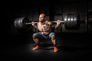 Weight lifting for Strength training and Hypertrophy.