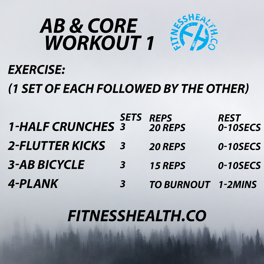 Ab and Core Workout 30 Minutes