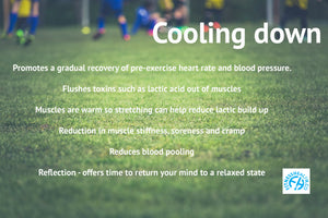 Warm up and cool down properly