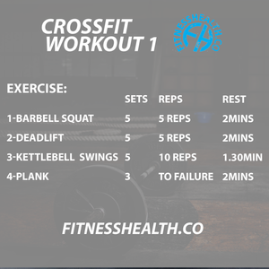 CrossFit Workout 1 Total body workouts
