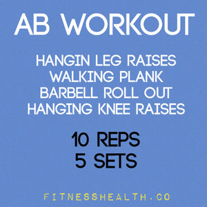Abdominal 10 Minutes Advance Gym Workout