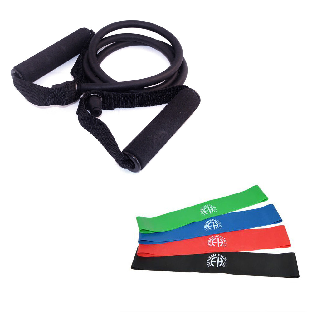 Resistance Band's with Handles VS  without Handles