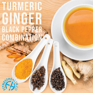 Why Turmeric, Ginger & Black Pepper is a Powerful Combination