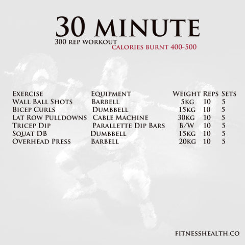 Workout Arms and Legs 30 Min 300 reps by Rene Harwood