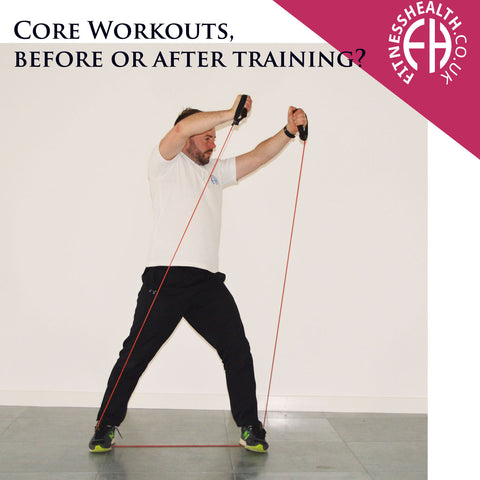 Core Workouts, before or after training?