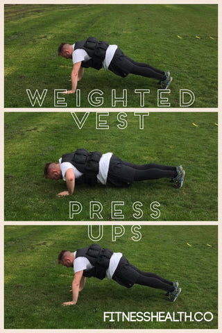 best 3 arm exercises for weighted vest training  fitness