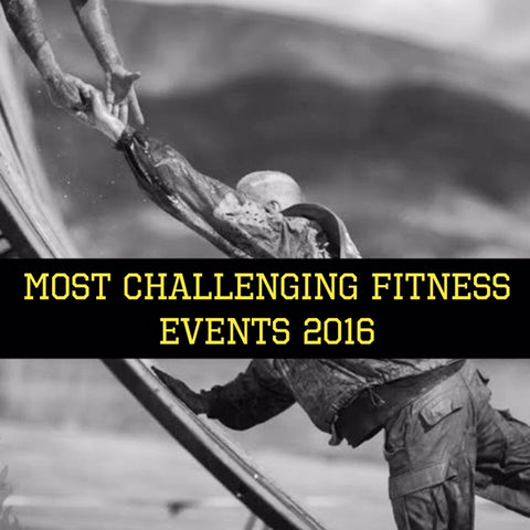 Most challenging fitness events 2016