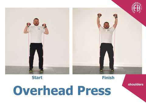 overhead press resistance band