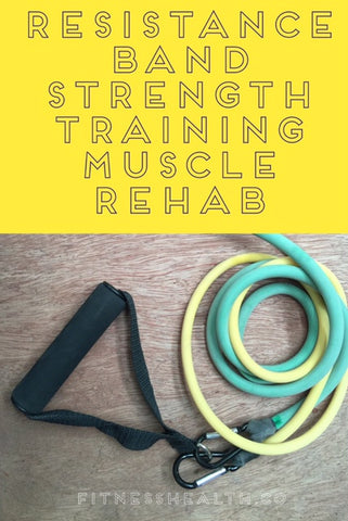Resistance Band Strength Training Muscle Rehabilitation