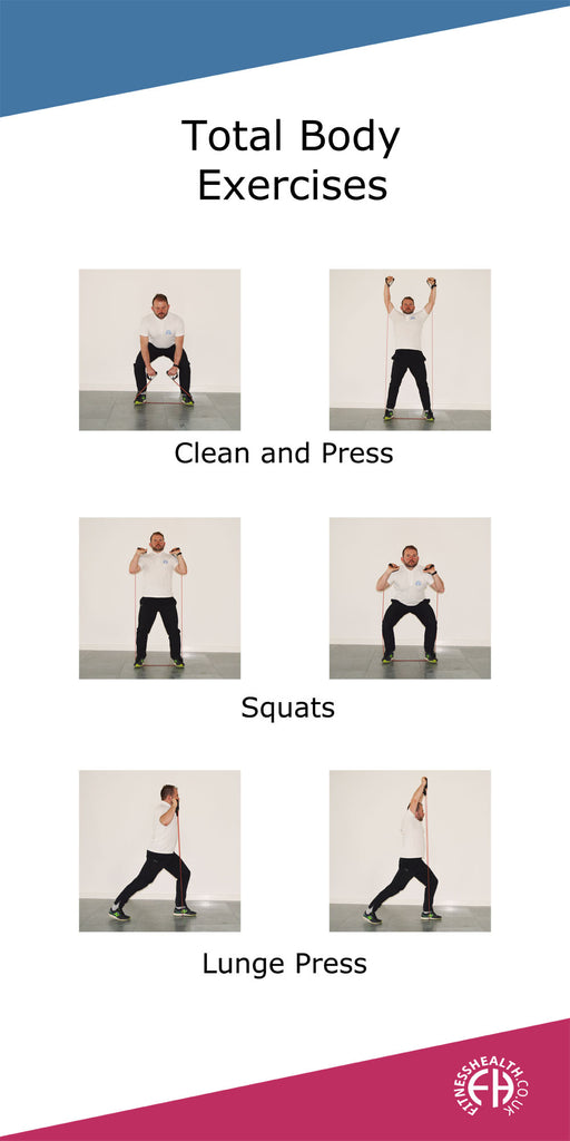 Resistance total body exercises